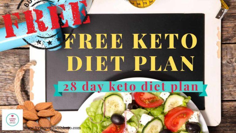 free keto diet plan (28 day keto diet plan)