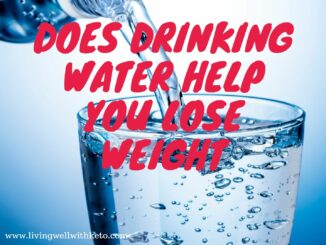 Does drinking water help you loose weight
