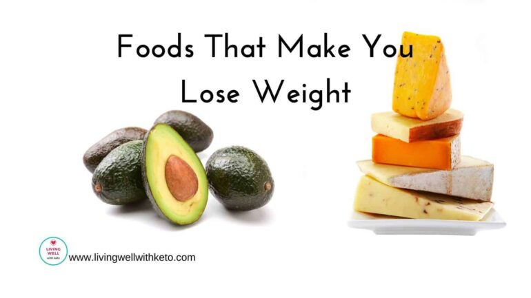 Foods that make you lose weight