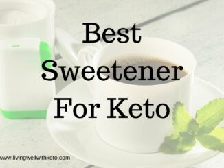 Best Sweetener For Keto