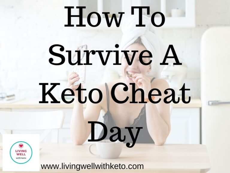 How to survive a keto cheat day