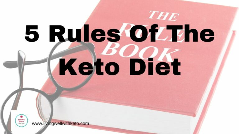 5 rules of the keto diet