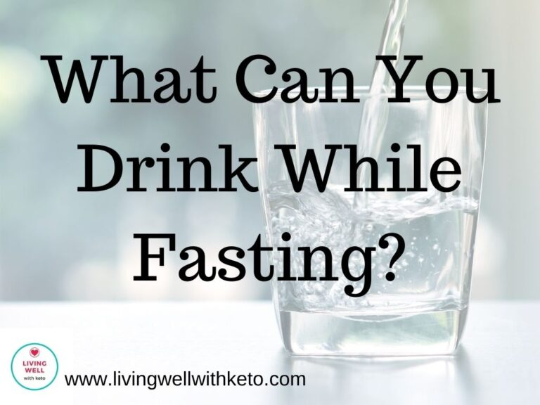 What Can You Drink While Fasting