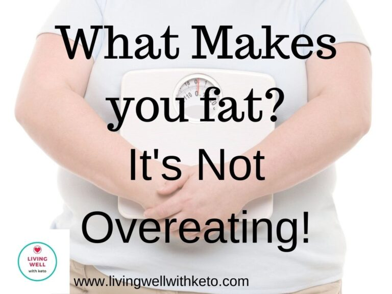 What makes you fat? It's not overeating